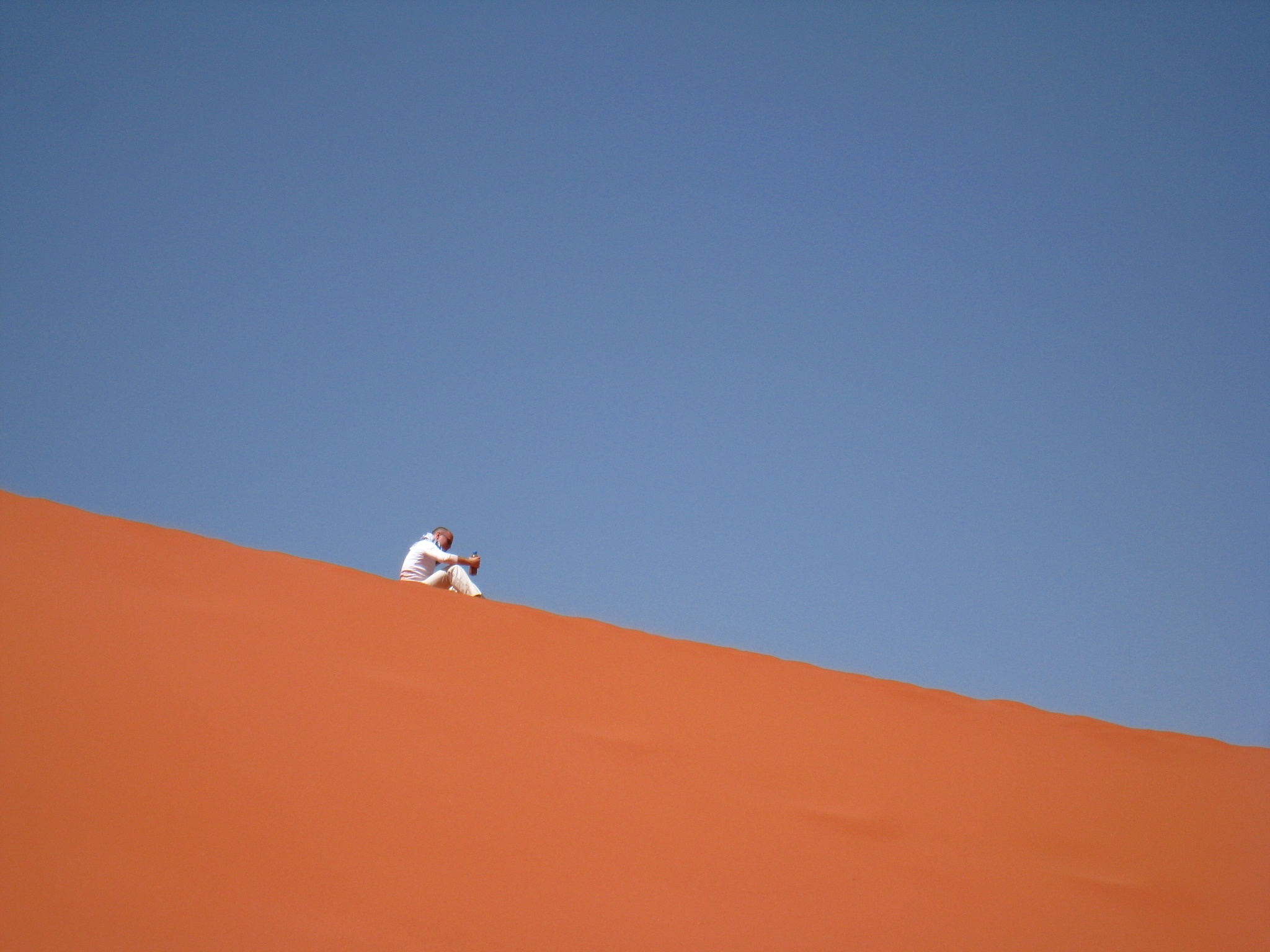 Voyager seule - Alone in the Wadi Rum