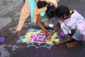Joyeux Pongal de Tiruchirappalli