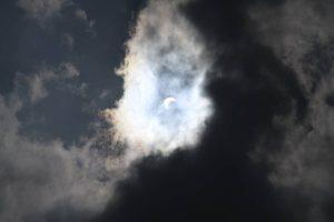 Jour d'éclipse à Tanjore