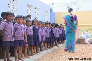 Nilakottai - avant l'école