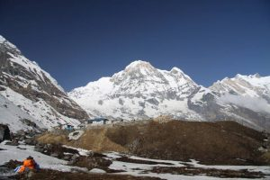 Base Camp and Annapurna south