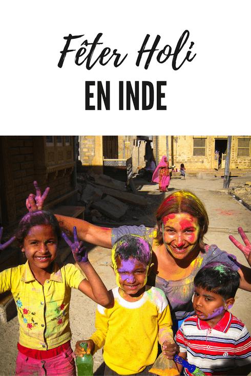 Célébrer Holi en Inde, récit de mon expérience