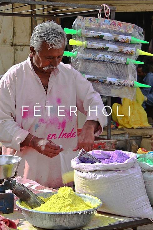 Fêter Holi en Inde est une expérience unique à vivre au moins une fois. Retour sur mon expérience
