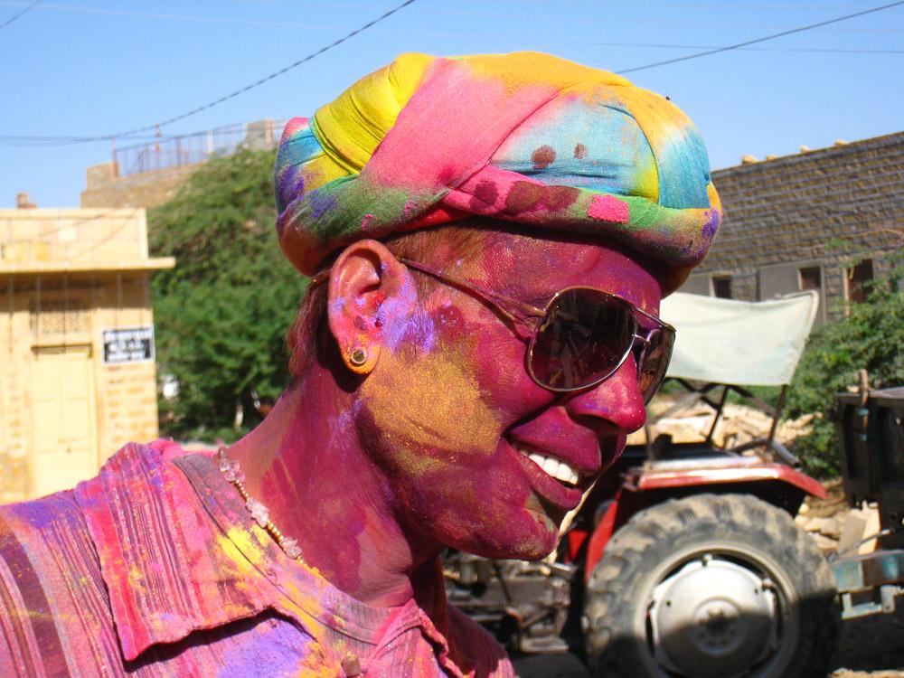 Holi en Inde - Pulo Jaisalmer