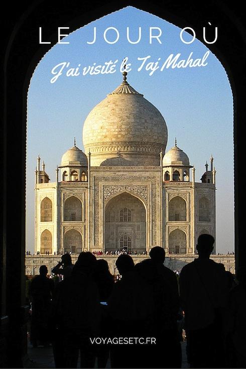 Je ne me voyais pas aller en Inde et ne pas visiter le Taj Mahal. J'ai attendu mon second passage à Delhi pour me rendre à Agra, comme pour le visiter en dernier, avoir cette dernière image de l'Inde. Magnifique
