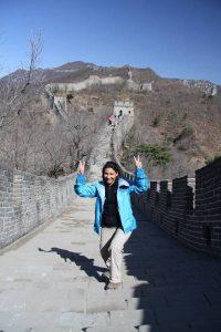 Le  jour où… J'ai marché sur la Grande muraille de Chine