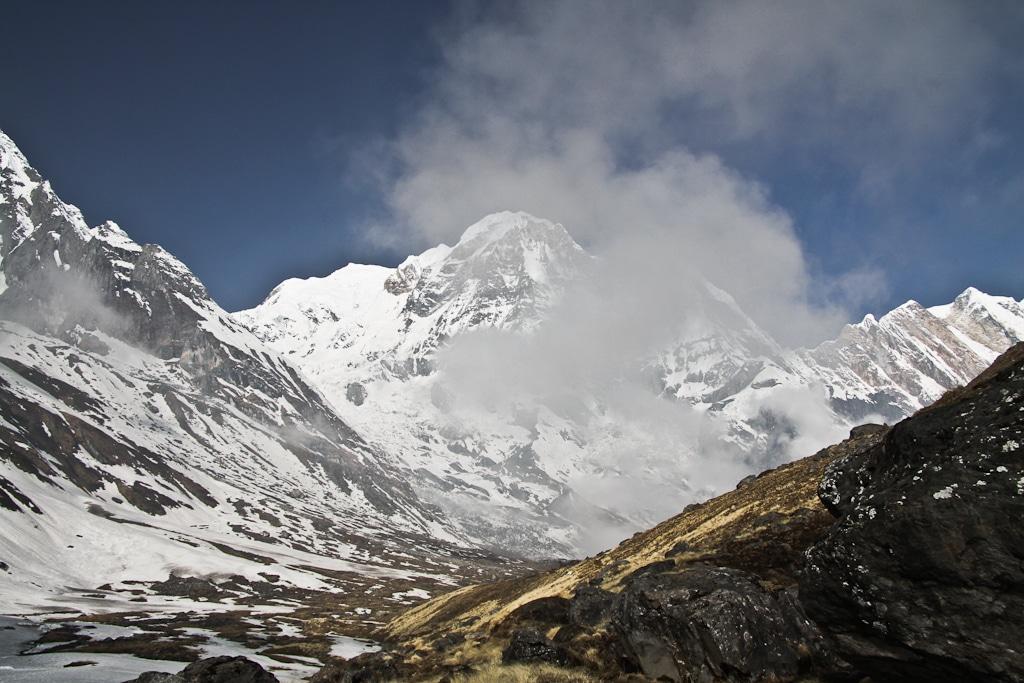 Montée vers le camp de base de l'Annapurna - Trek au Népal