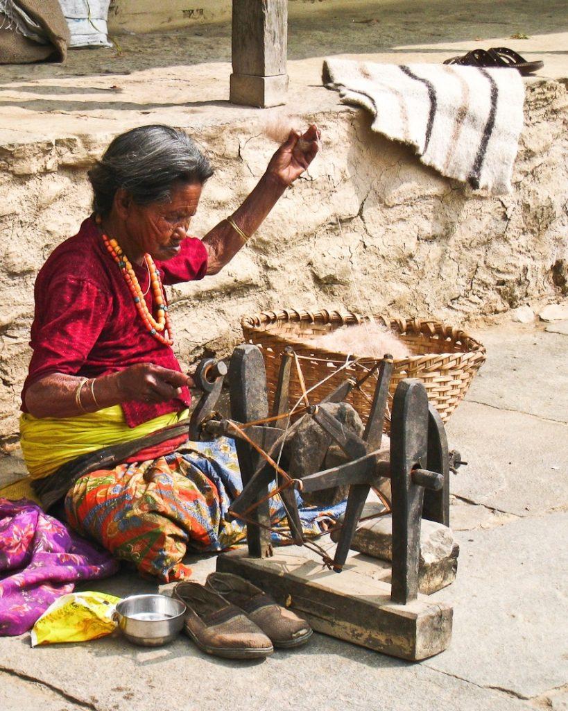 Tissage de montagne - Népal