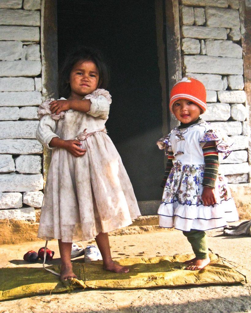 Les enfants au Népal