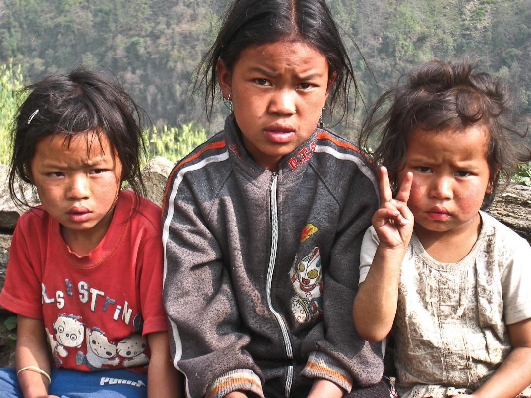 Les enfants du Népal