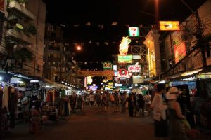 Lost in Khaosan road
