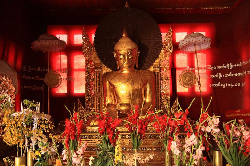 Bamboo pagoda Kalaw Birmanie