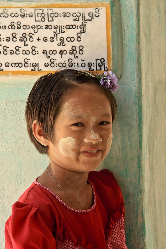 La petite fille de Kalaw Birmanie
