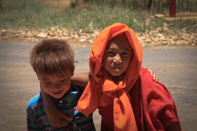 Le petit moine de Kalaw Birmanie