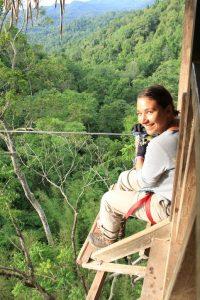 Le jour où… J'ai fait le singe dans les arbres du Laos