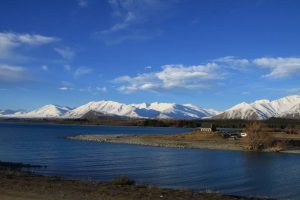 26 juillet, Nouvelle Zélande. Km 218 – Lac Tekapo