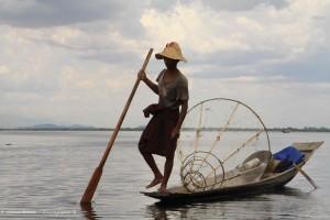 Birmanie #1 : Le pêcheur du lac Inlé