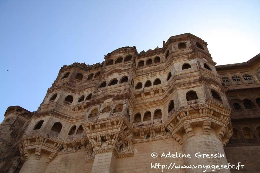 Fort de Jodhour en Inde