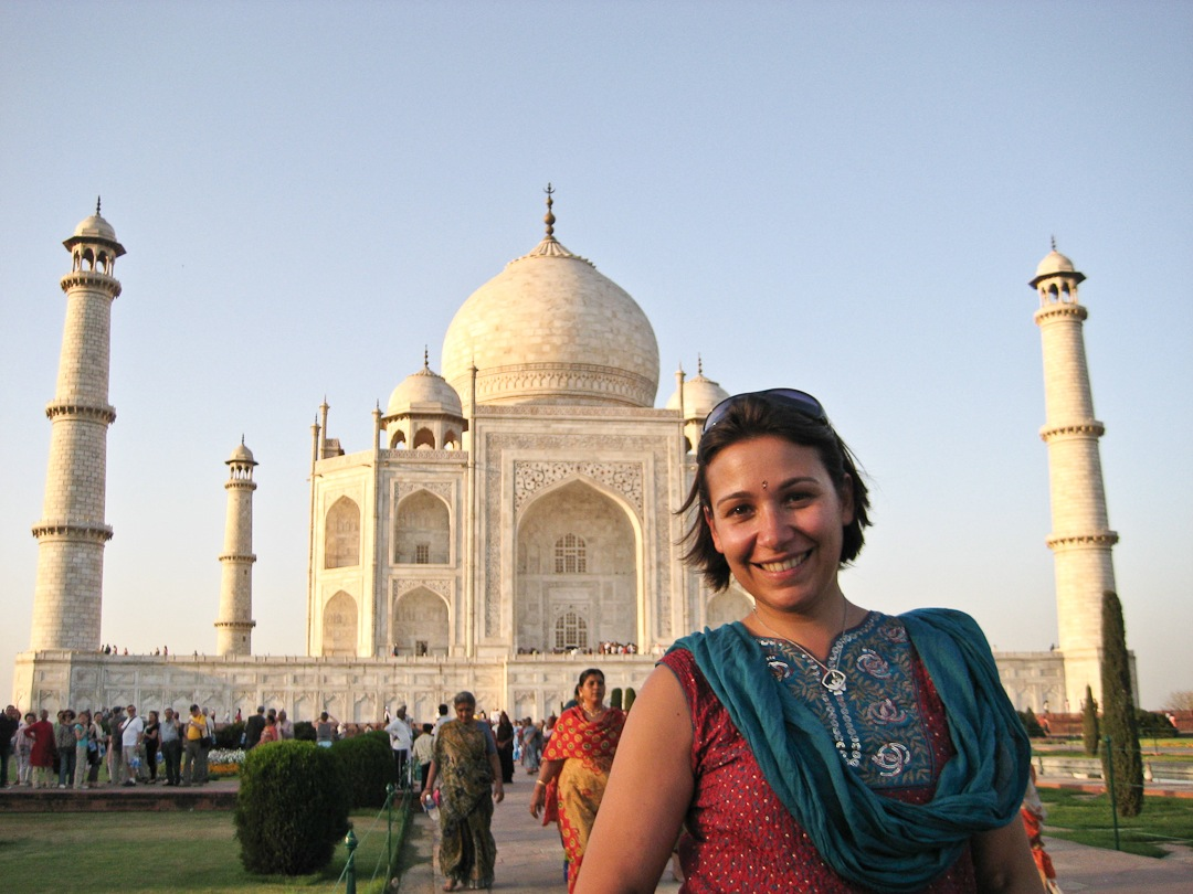 Le jour où j'ai réalisé un premier grand rêve de ce tour du monde : voir le Taj Mahal