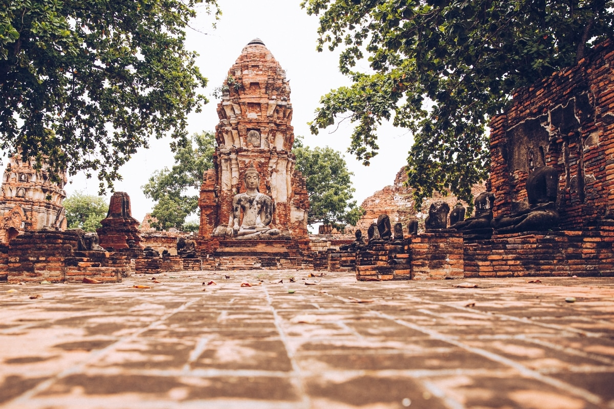 Visiter le Wat Mahathat à Ayutthaya
