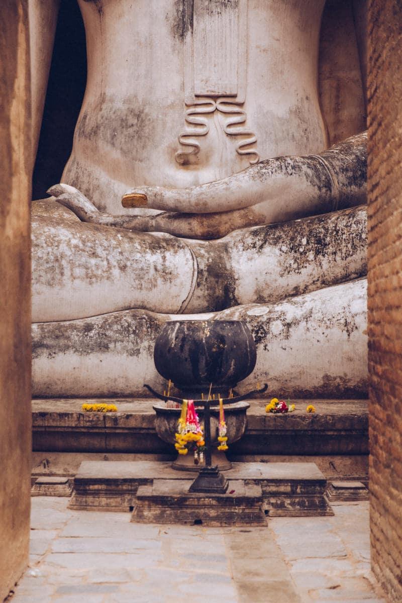 Wat Si Chum - Parc historique de Sukhothai en Thaïlande