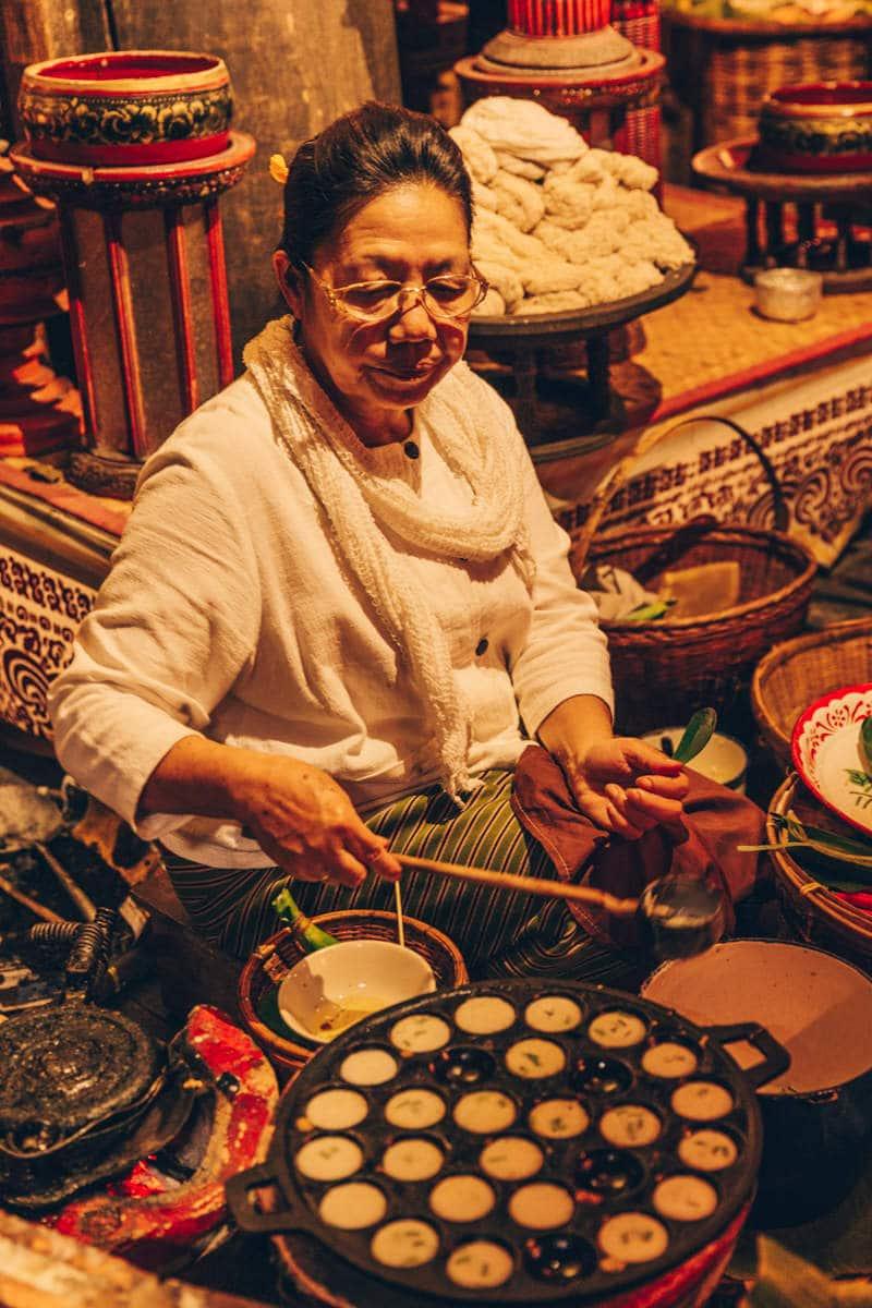 Cuisine traditionnelle Lanna à Chiang Mai