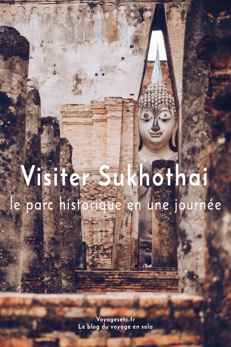 Quels temples visiter dans le parc historique de Sukhothai en Thaïlande ? Retrouvez tous mes temples préférés ainsi que de nombreuses photos pour vous donner envie !