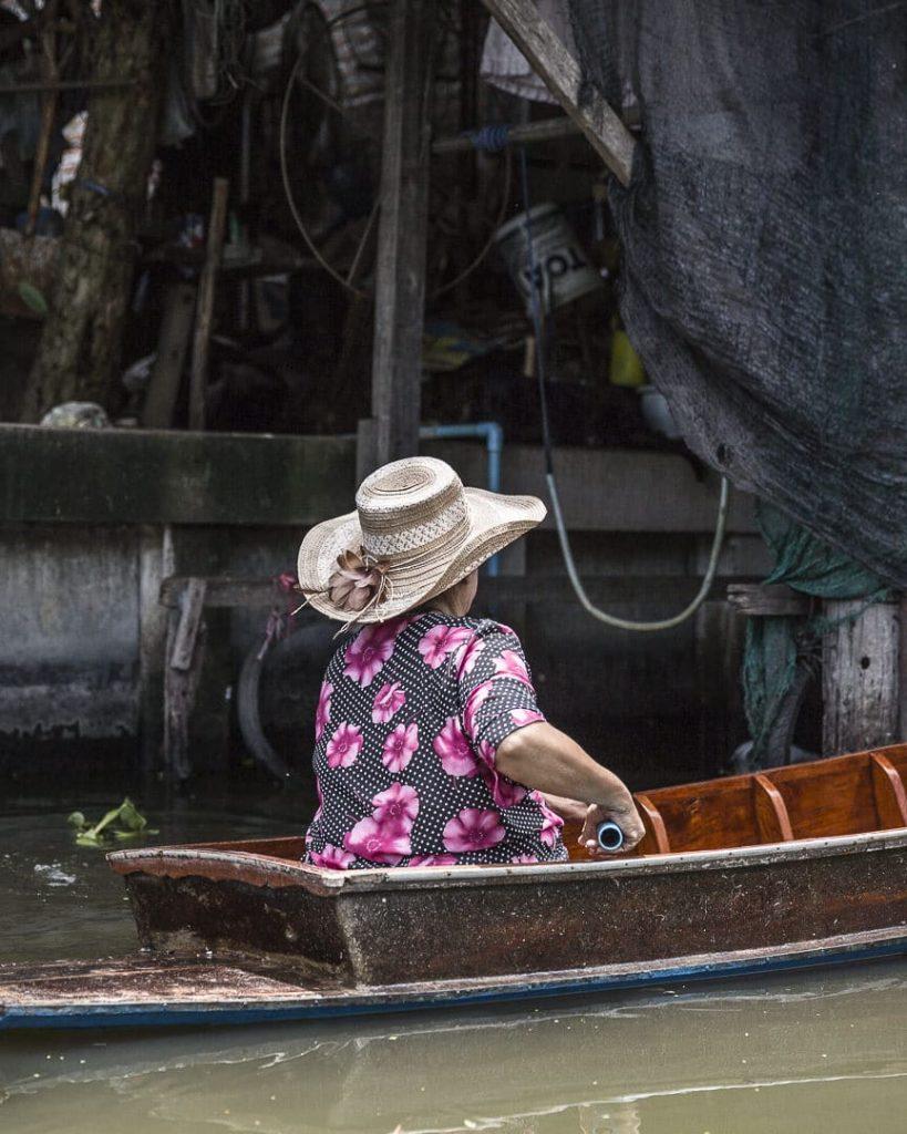 Toujours être chic dans les klongs -Bangkok, Thaïlande