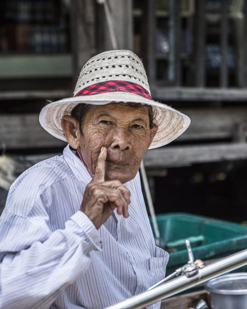 Visage des klongs - Bangkok, Thaïlande