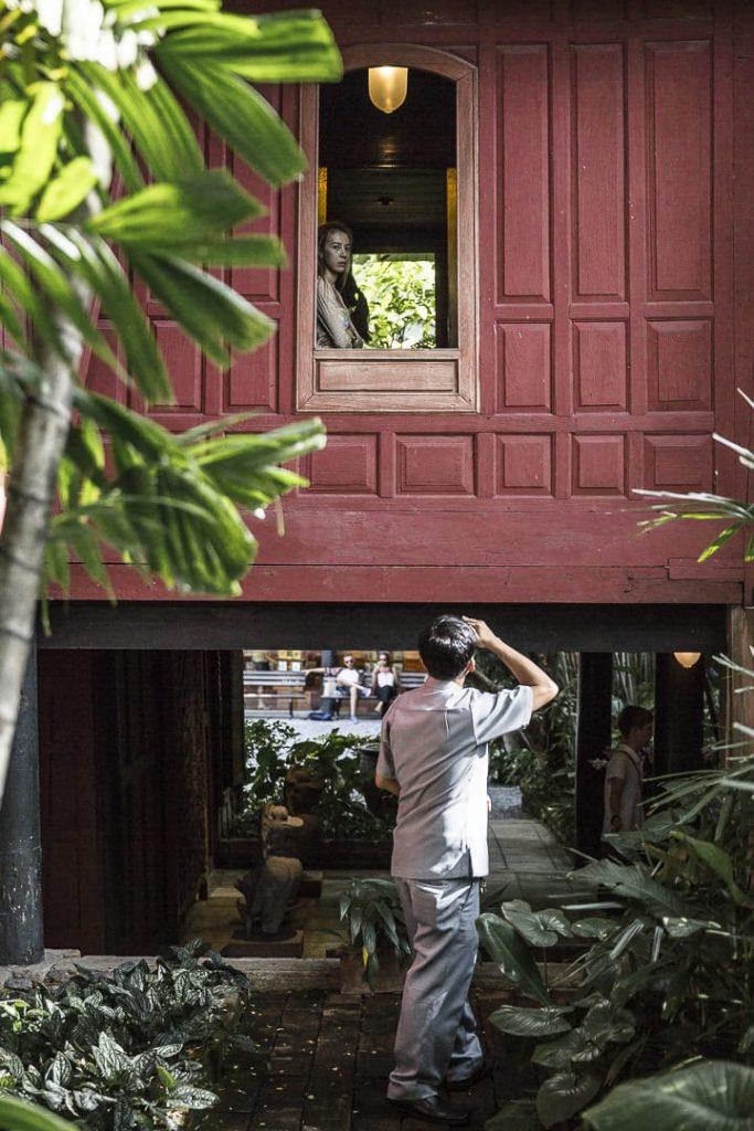 Dans les jardins de la maison Jim Thompson - Bangkok, Thailande