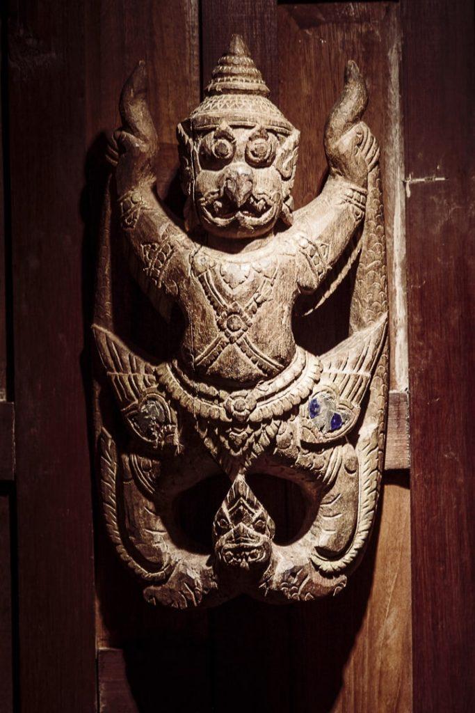 Sculpture de la maison Jim Thompson - Bangkok Thailande