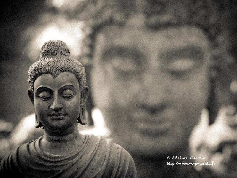 Wat Umong - temple Chiang Mai Bouddhas