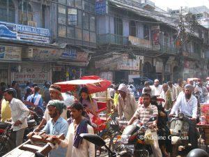 voyager seule en Inde - dans le chaos des rues