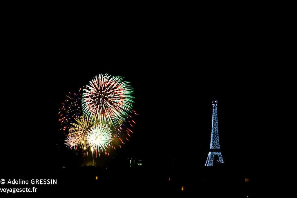 Feu d'artifice Paris 2012