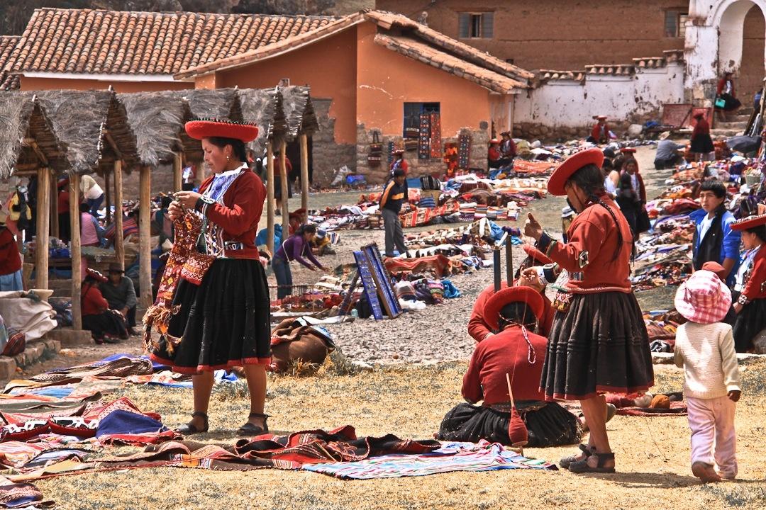 le dimanche à Chinchero, incontournable de la vallée sacrée