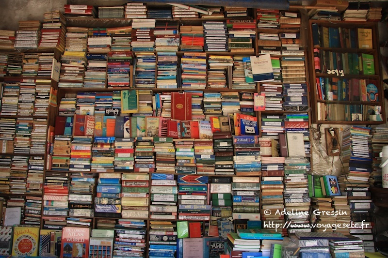 Birmanie - Librairie de rue