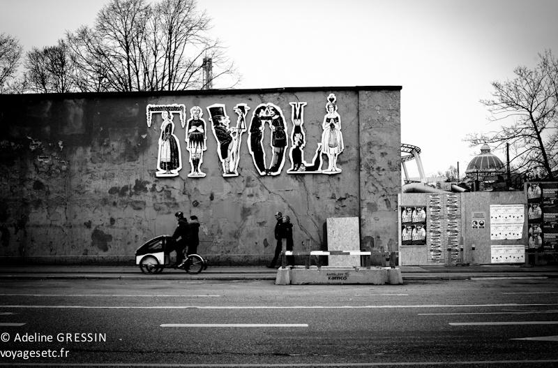 Copenhague à Velo - devant Tivoli