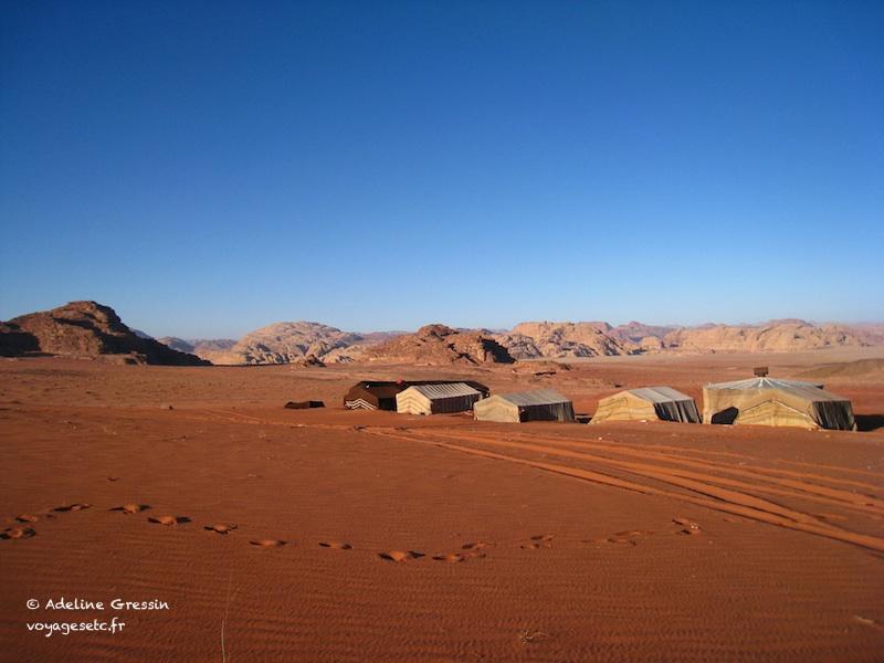 Jordanie - desert Wadi Rum