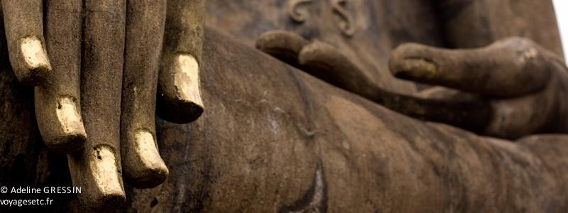 Main de Bouddha - Thailande