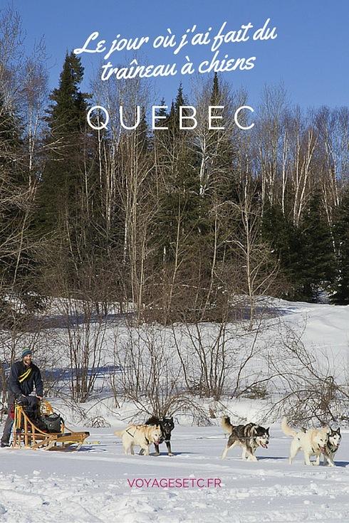 Faire du traineau à chiens est une expérience unique. J'ai eu l'occasion d'en faire deux fois au Québec au Canada, 2 expériences différentes.  Je vous relate l'une d'entre elles dans ce billet