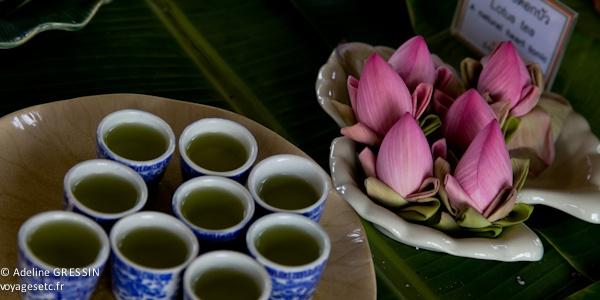 Bien être en Thailande Thé à la fleur de lotus