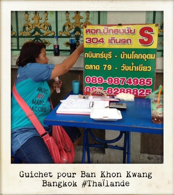 Guichet mini van pour Khao Yai bangkok