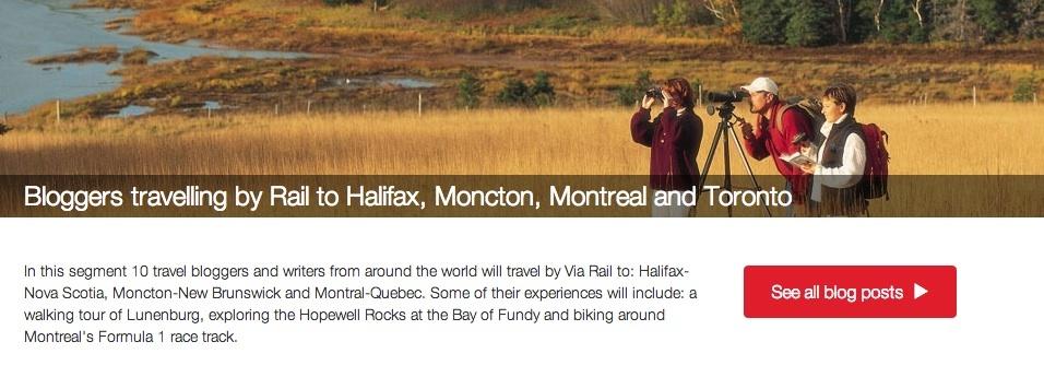 header Blogger trip Halifax Toronto