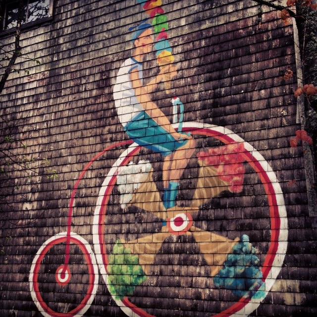 Street art Mahone Bay