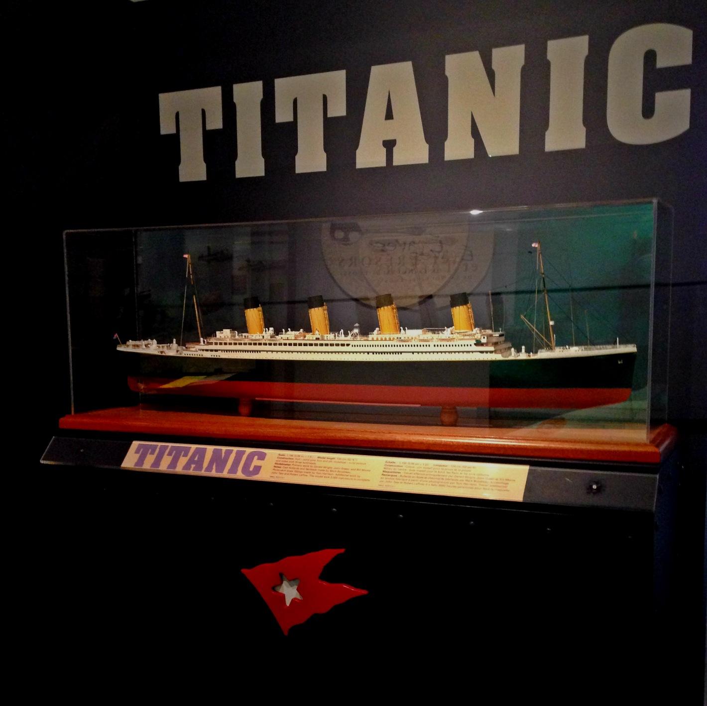 Titanic au musée maritime