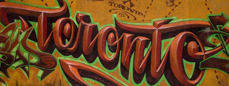 Graffiti Toronto Canada