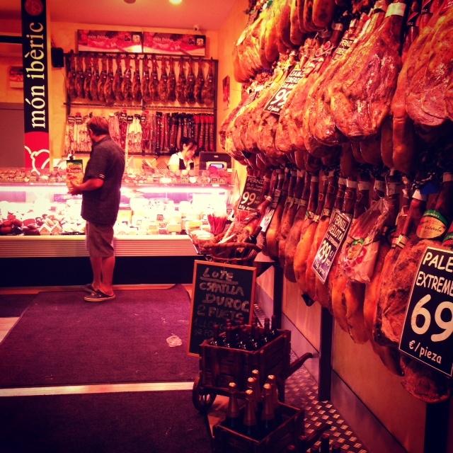 El jamon de Barcelone