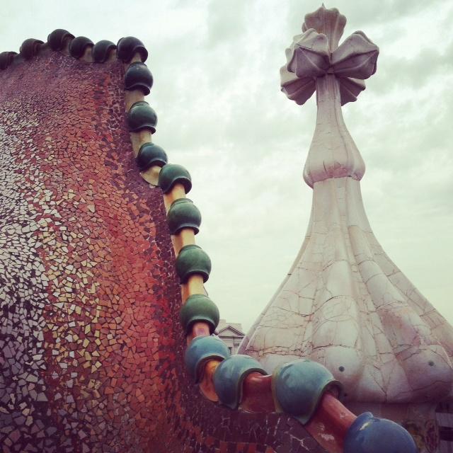 Gaudi toit de la casa Batllo
