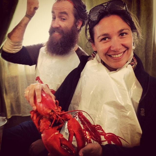 Le homard du nouveau Brunswick