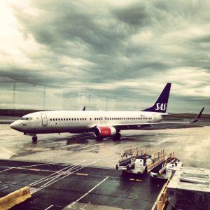 Norvège Avion SAS aéroport de Paris